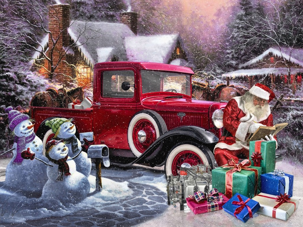 Santa-Checking-List