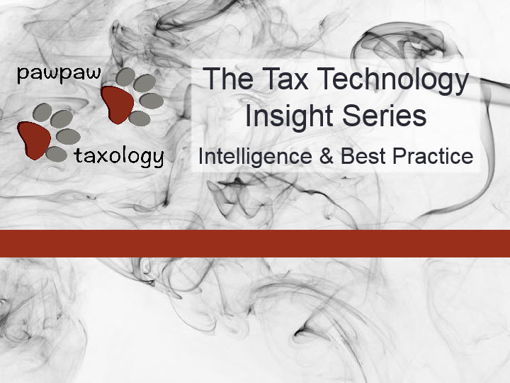 The Tax Technology Insight Series: New, In Depth, A Milestone